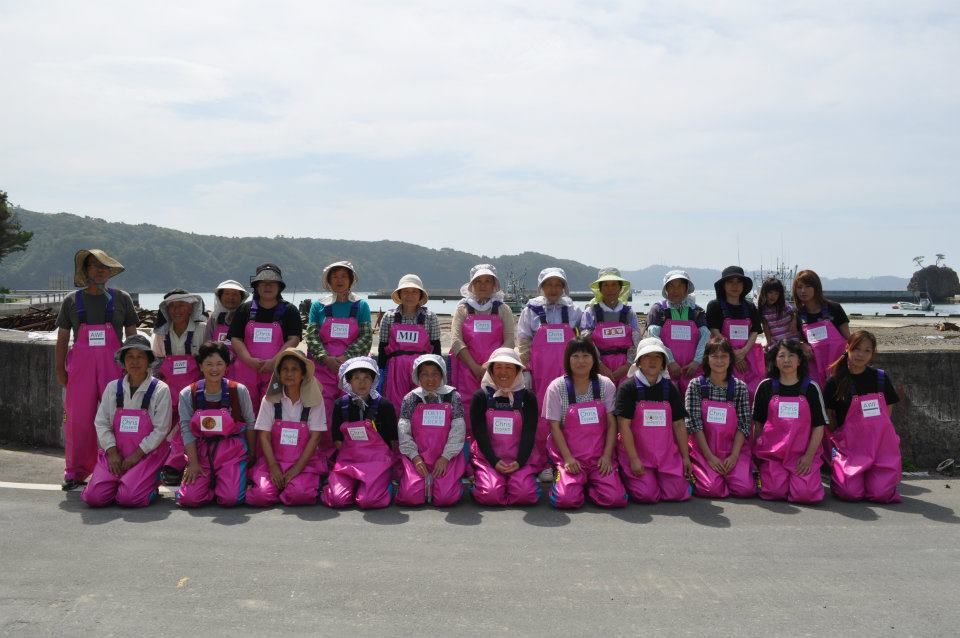 Pink Fisherwomen - group photo